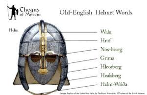 Anglo Saxon Helmet Diagram