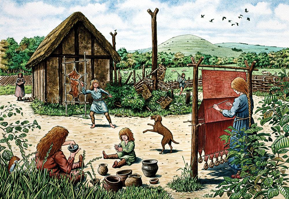 anglo-saxon-village