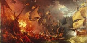 The Naval Fleet of England and Spain