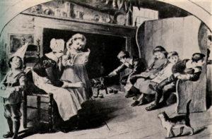 Girl's Education in Tudor Era