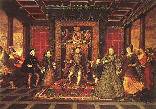 family of queen elizabeth 1