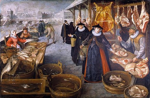 Food and snacks in Elizabethan era