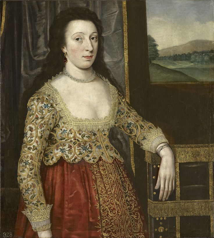 Jacobean woman