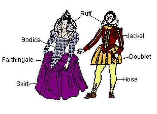 Rich Elizabethan Clothing