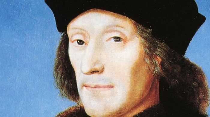 A portrait of the Tudor King Henry VII of England