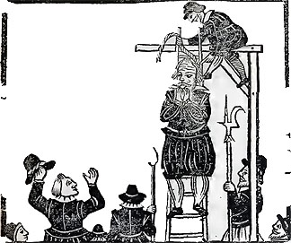Hanging during tudor times