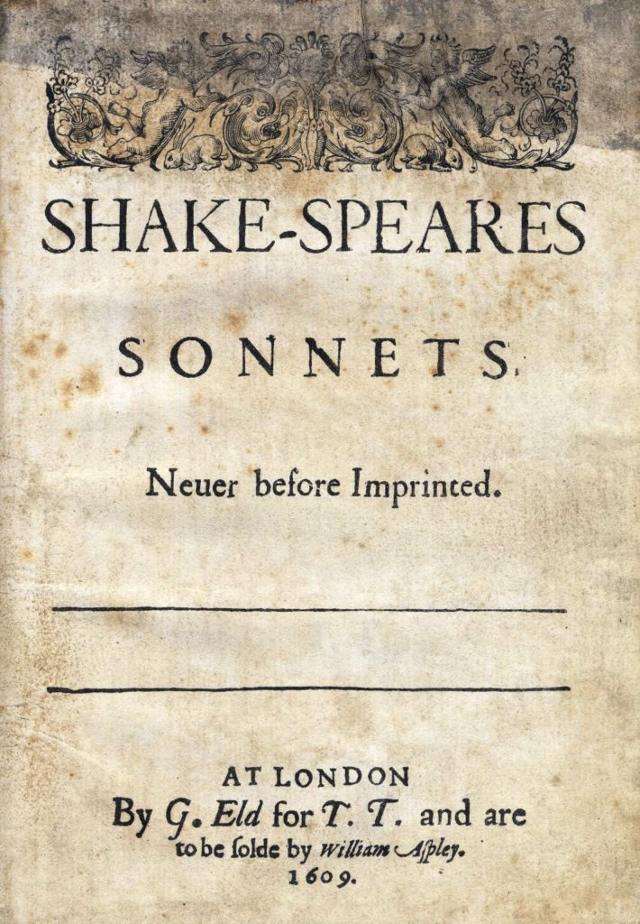 William Shakespeare Sonnet