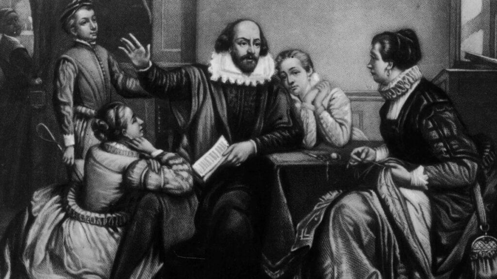 William Shakespeare's troupe